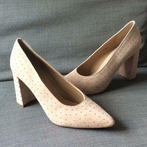 Banana Republic studded heels.